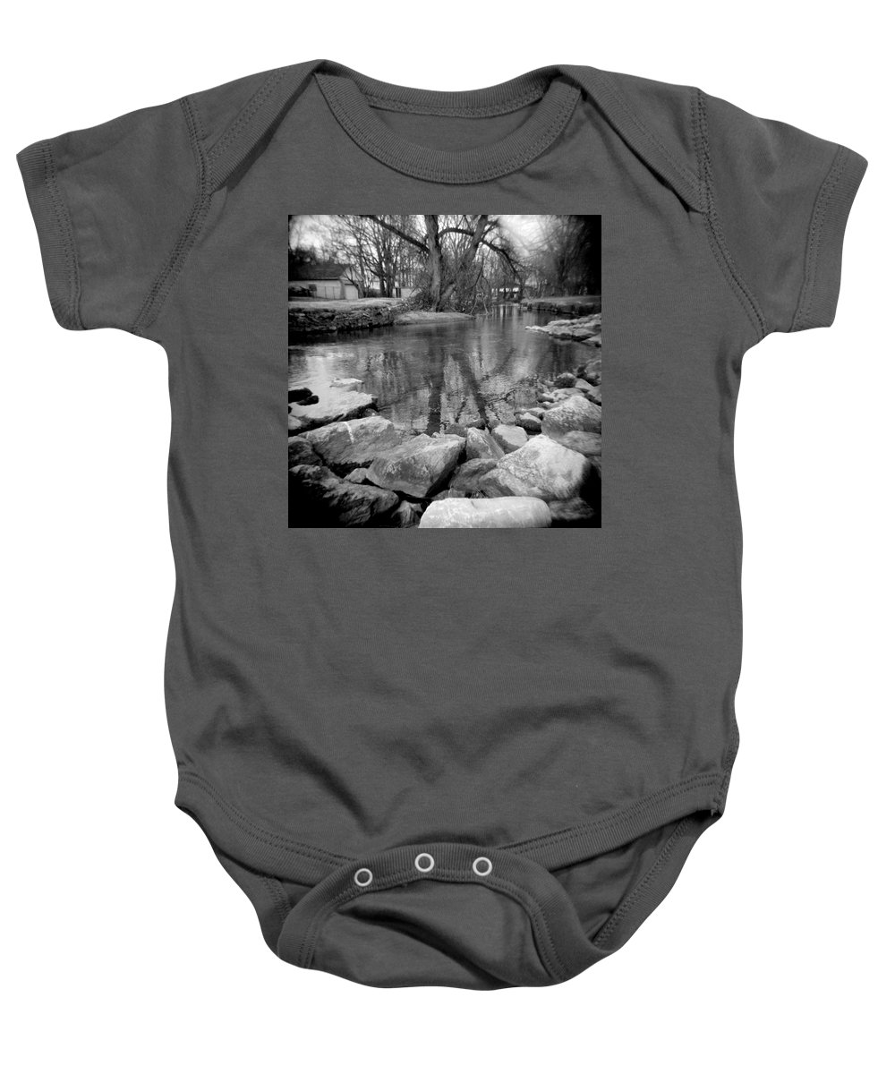 Photograph Baby Onesie featuring the photograph Le Tort Reflection by Jean Macaluso