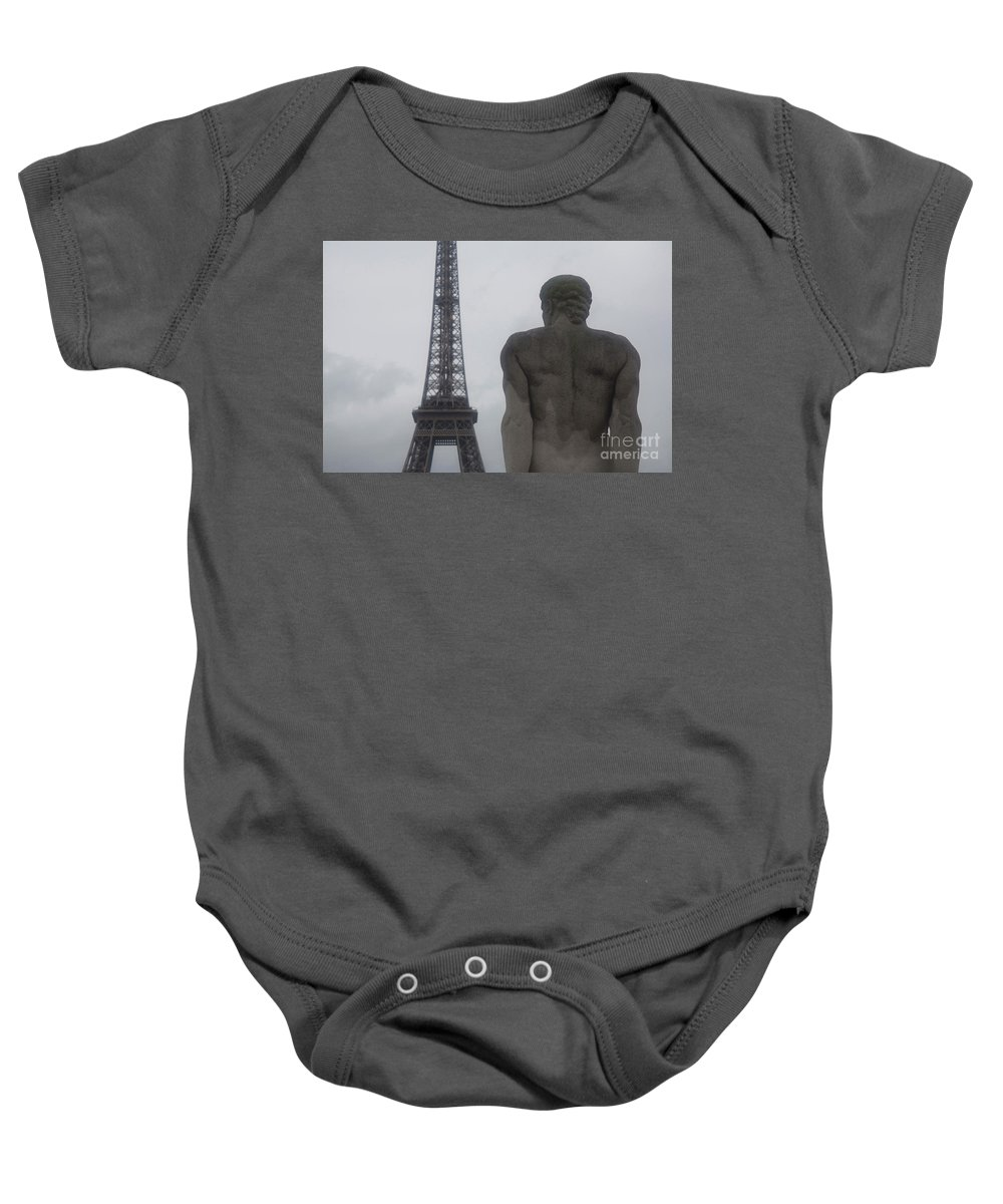 Paris Baby Onesie featuring the photograph Life Of The Stone #11 by Edit Kalman