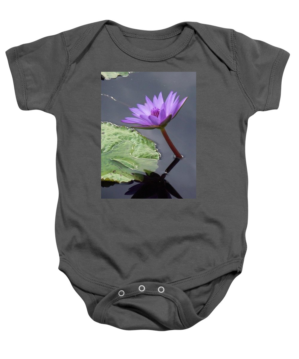 Photograph Baby Onesie featuring the photograph Lily Pond by Eric Schiabor