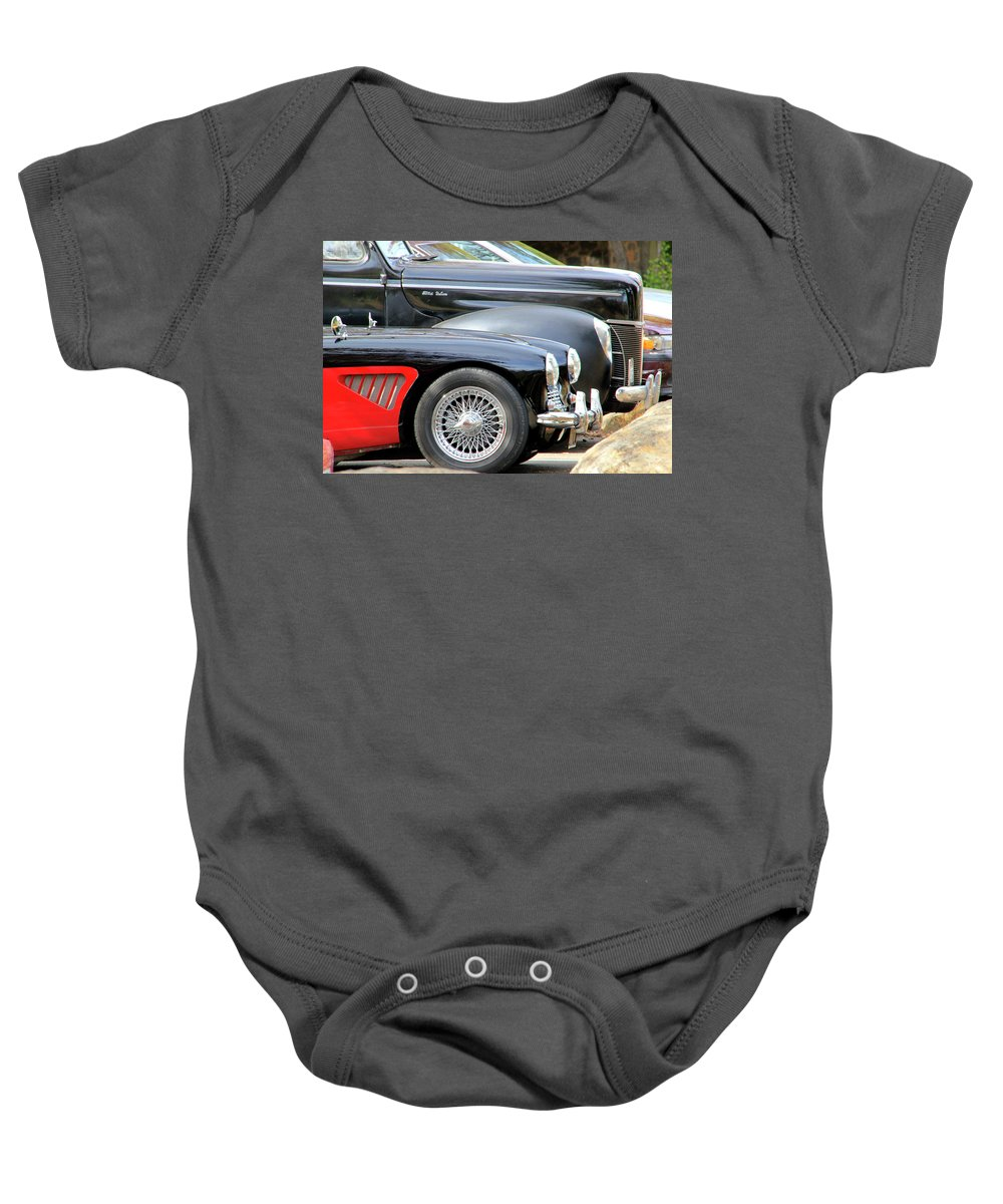 Restored Baby Onesie featuring the photograph Little And Big by Pauline Darrow