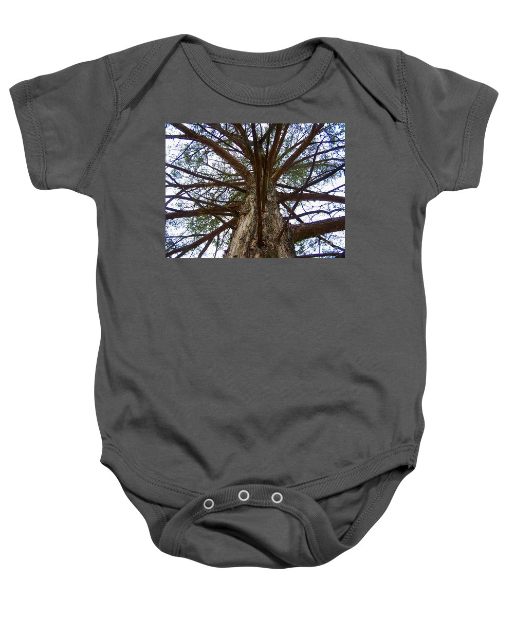 Life Baby Onesie featuring the photograph Live Spokes by Nadine Rippelmeyer
