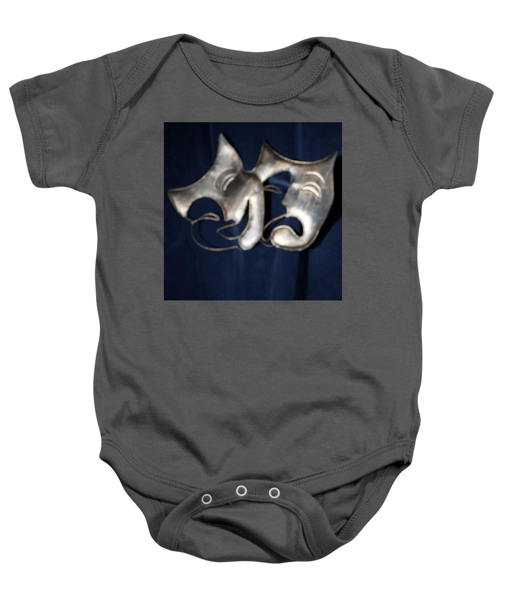 Logo Baby Onesie featuring the photograph Logo for Theater Productions by Alan D Smith