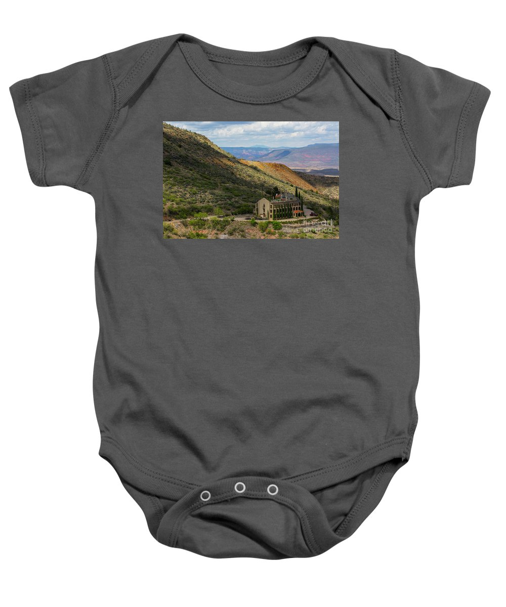 Hills Baby Onesie featuring the photograph Looking Out Over The Hills by Billy Bateman