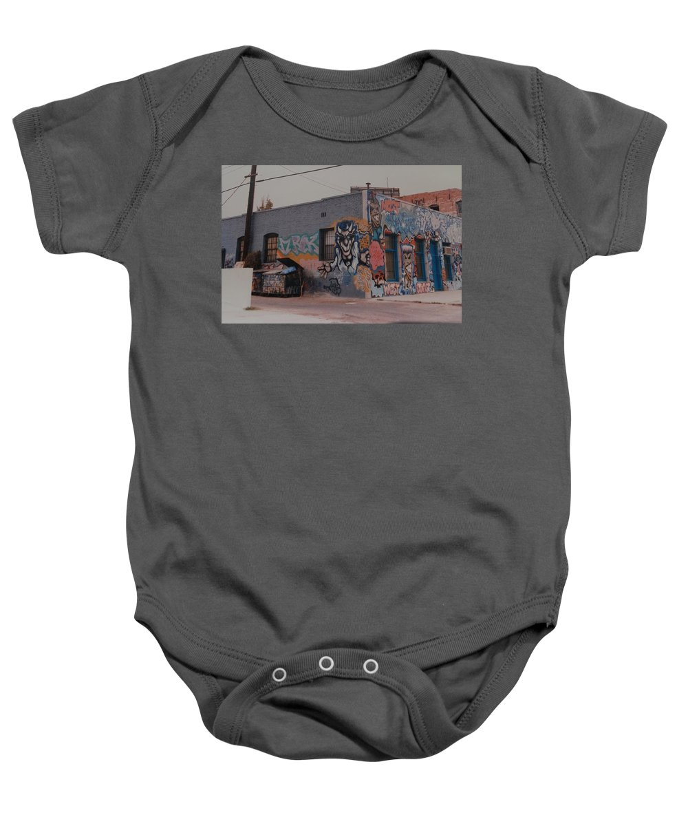 Urban Baby Onesie featuring the photograph Los Angeles Urban Art by Rob Hans