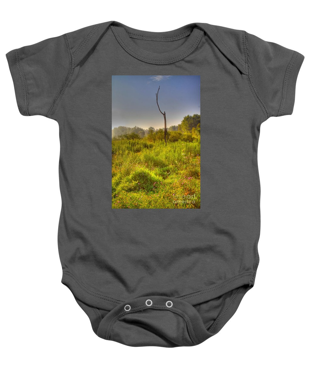 Landscape Baby Onesie featuring the photograph Lost by Robert Pearson