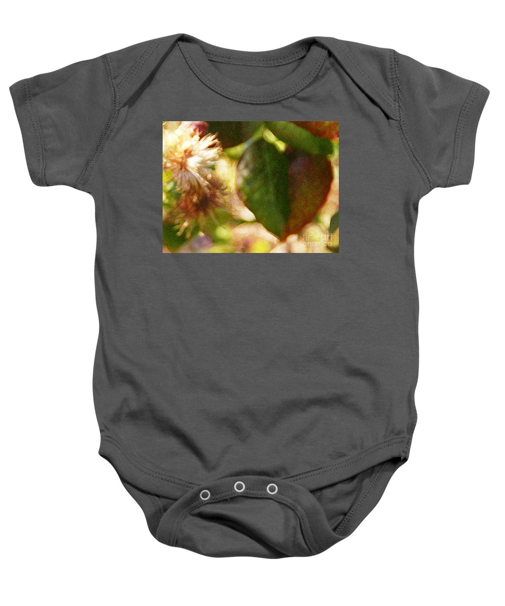 Wildflower Baby Onesie featuring the photograph Love Notes by Linda Shafer