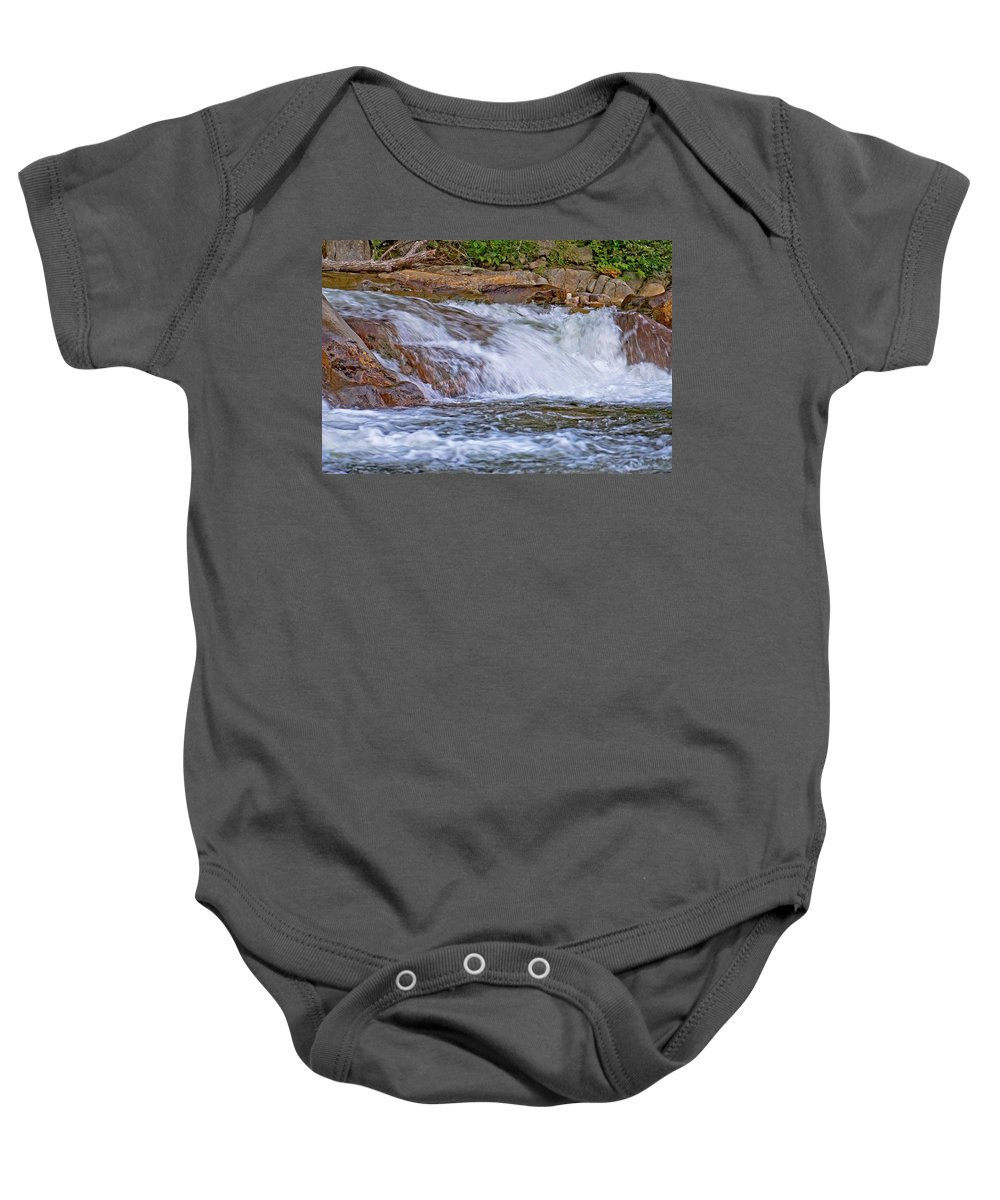 lower Falls Baby Onesie featuring the photograph Lower Falls by Paul Mangold
