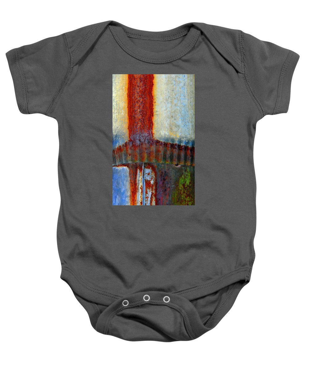 Skip Hunt Baby Onesie featuring the photograph Magma by Skip Hunt