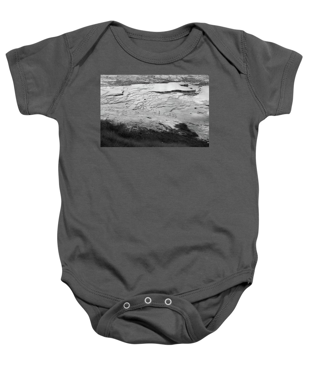 North America Baby Onesie featuring the photograph Mammoth Ripples by David Finlayson
