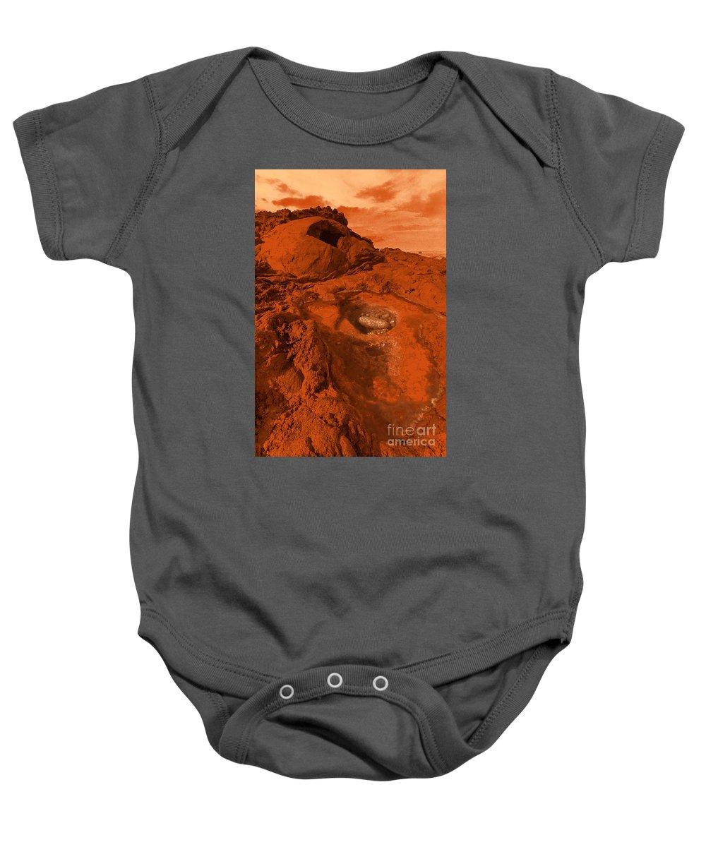 Alien Baby Onesie featuring the photograph Mars Landscape by Gaspar Avila