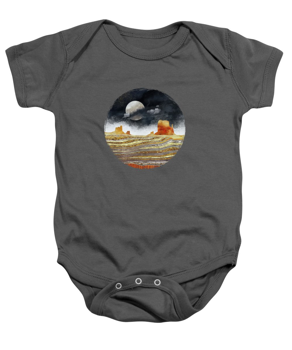 Abstract Landscape Baby Onesies