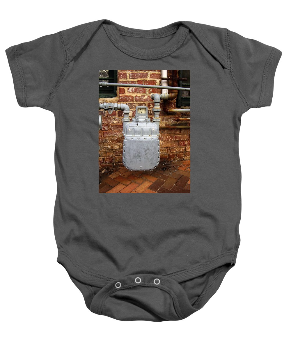 Meter Baby Onesie featuring the photograph Meter II In Athens Ga by Flavia Westerwelle