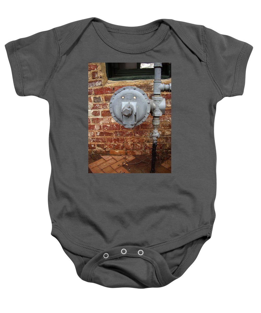 Meter Baby Onesie featuring the photograph Meter In Athens Ga by Flavia Westerwelle