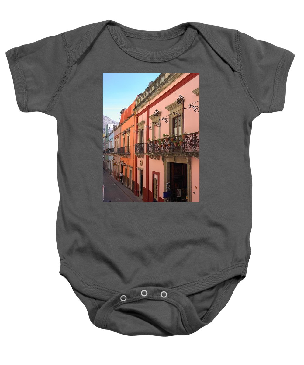 Charity Baby Onesie featuring the photograph Mexico by Mary-Lee Sanders