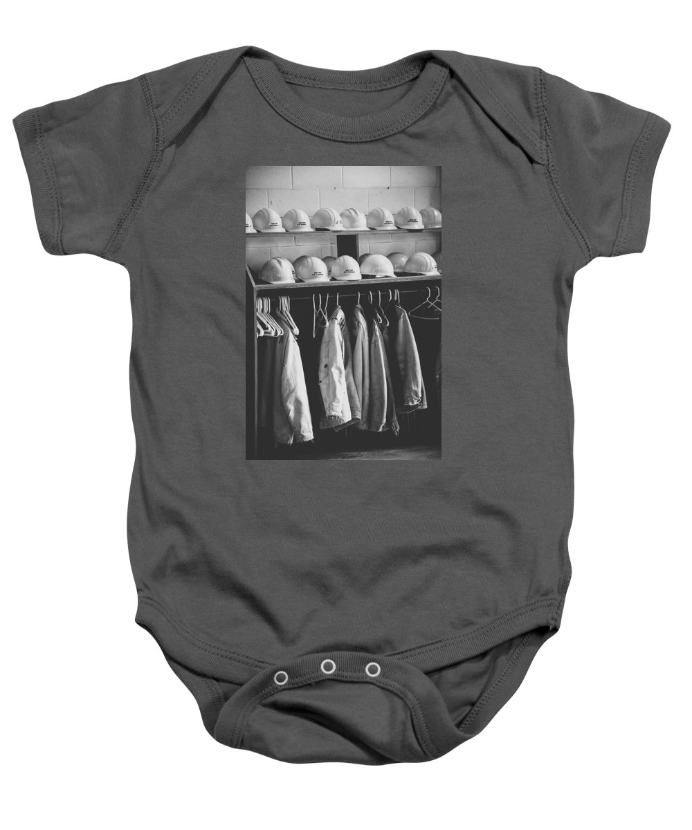 Mine Baby Onesie featuring the photograph Mine Protection by Wesley Farnsworth
