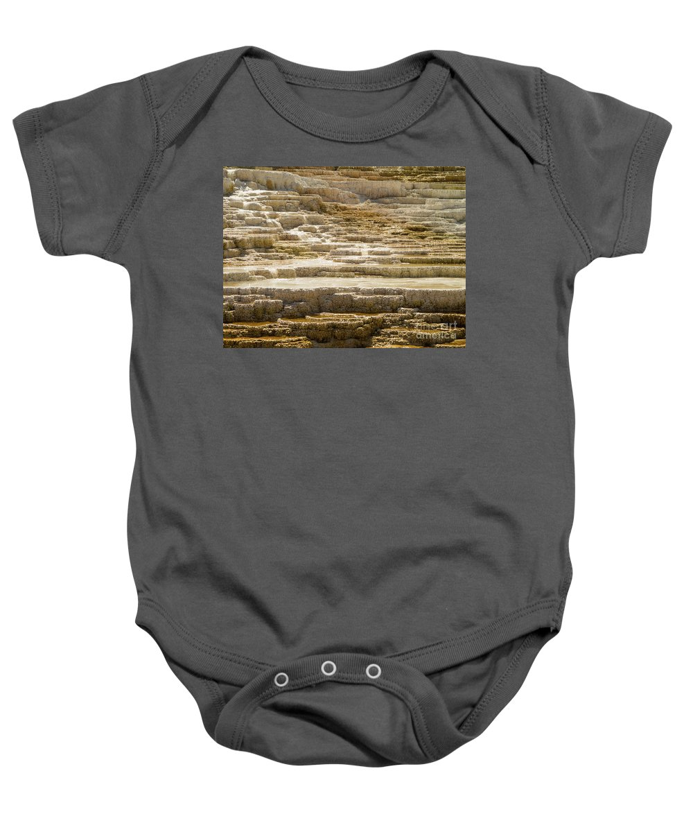 Minerva Terrace Baby Onesie featuring the photograph Minerva Terrace 3 by Tracy Knauer