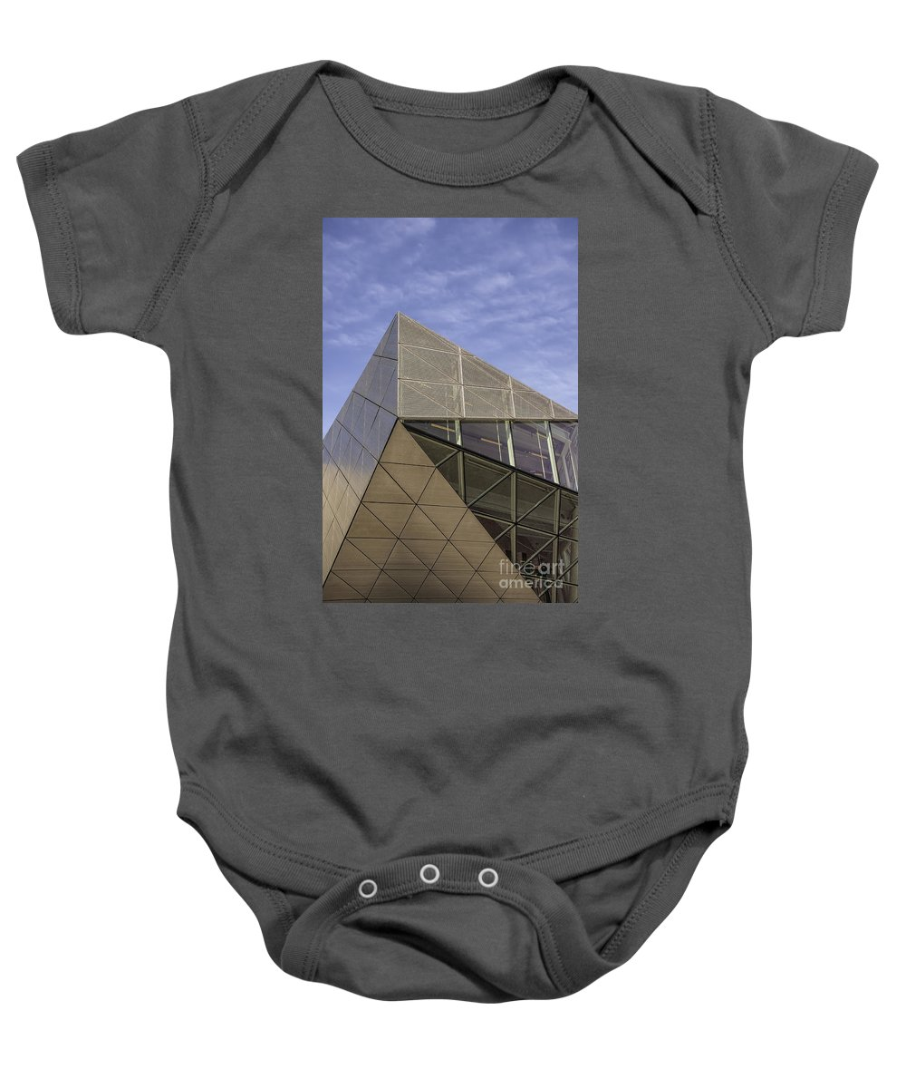 Architecture Baby Onesie featuring the photograph Modern Detail by Antony McAulay