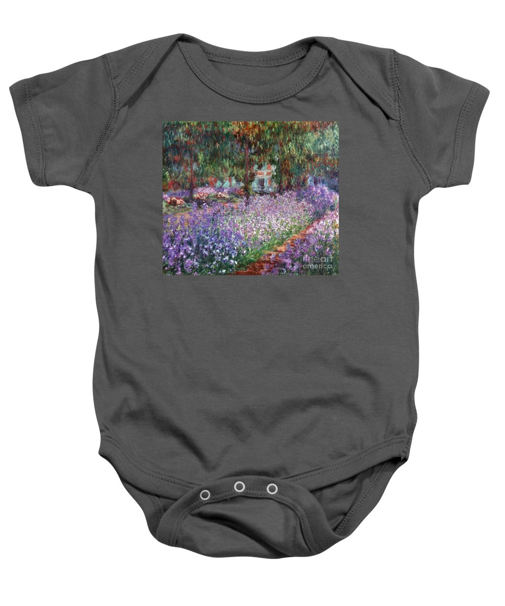 1900 Baby Onesie featuring the photograph Monet: Giverny, 1900 by Granger