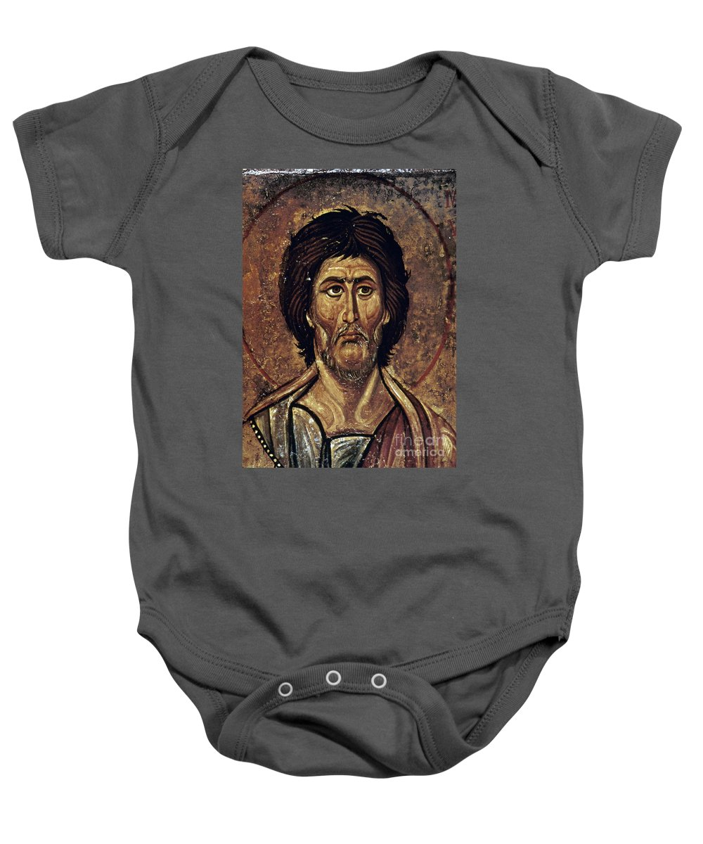 13th Century Baby Onesie featuring the photograph Moses by Granger