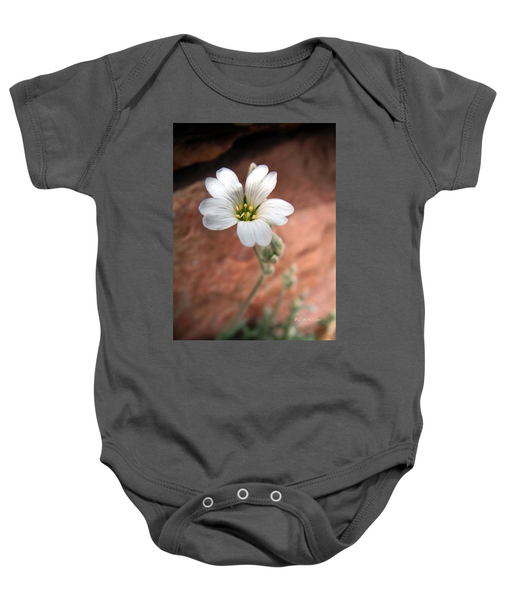 Alpine Baby Onesie featuring the photograph Mountain Beauty by RC DeWinter