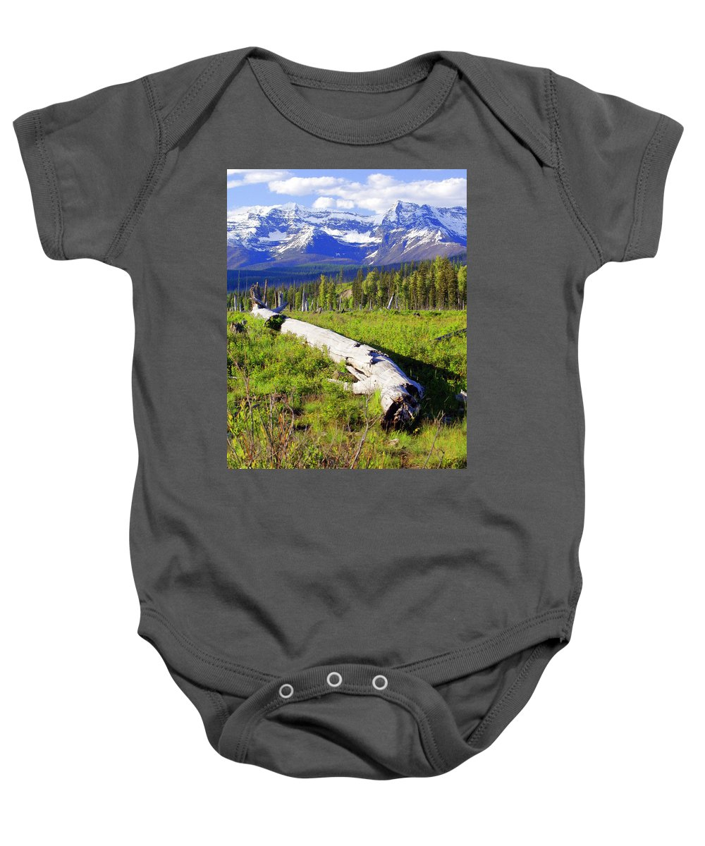 Mountain Baby Onesie featuring the photograph Mountain Splendor by Marty Koch