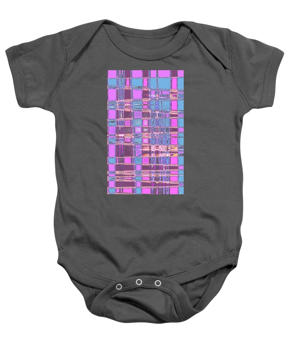 Moveonart! Digital Gallery Baby Onesie featuring the digital art Moveonart Crossing Paths Again by Jacob Kanduch