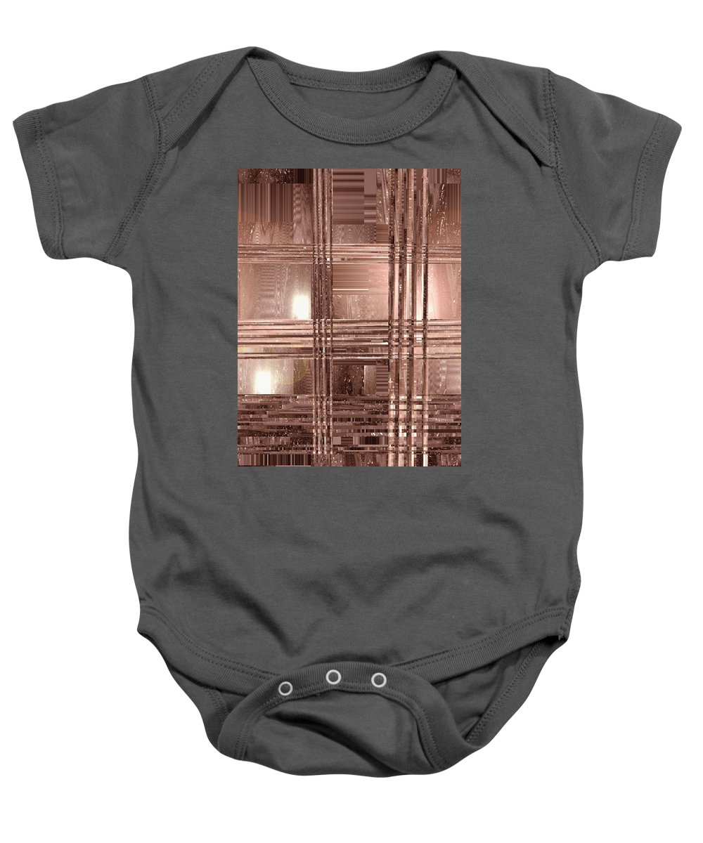 Moveonart! New York / San Francisco / Oklahoma City Jacob Kanduch Baby Onesie featuring the digital art Moveonart Indian Summer Night In San Francisco by Jacob Kanduch