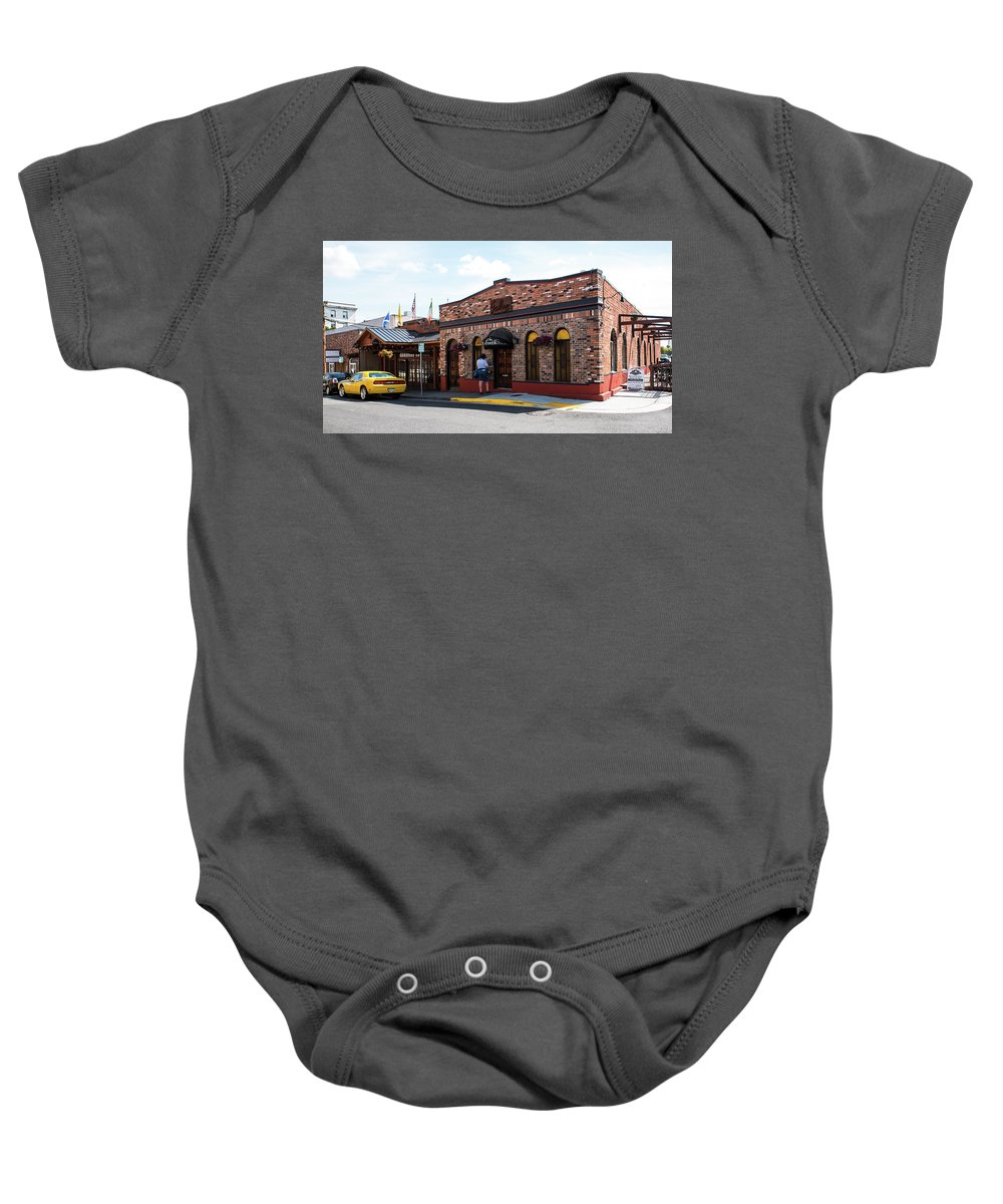 Mt Vernon Mail Baby Onesie featuring the photograph Mt Vernon Mail by Tom Cochran