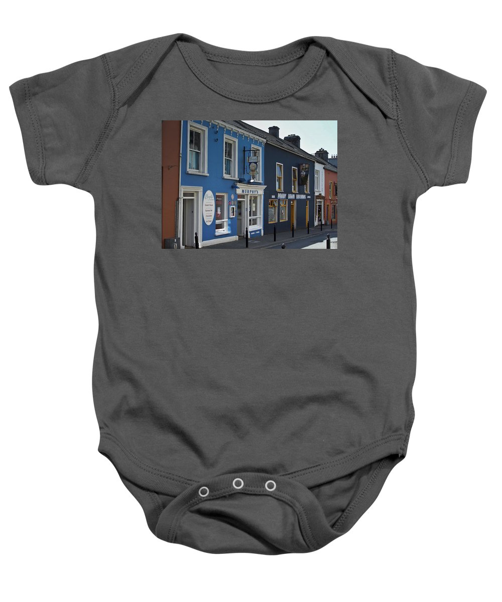 Irish Baby Onesie featuring the photograph Murphys Ice Cream Dingle Ireland by Teresa Mucha