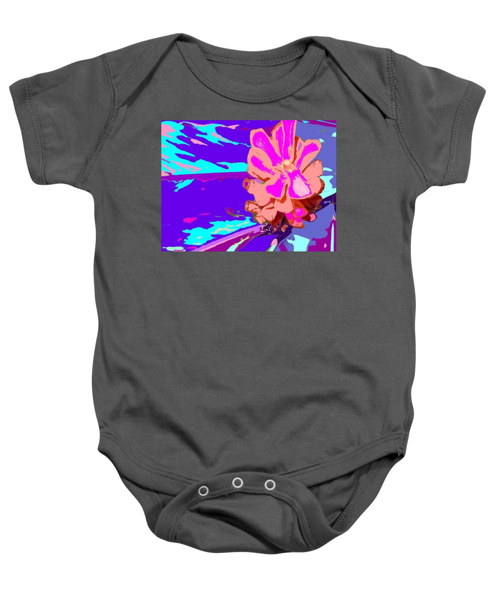 Flower Baby Onesie featuring the photograph Mystical Flower by Ian MacDonald