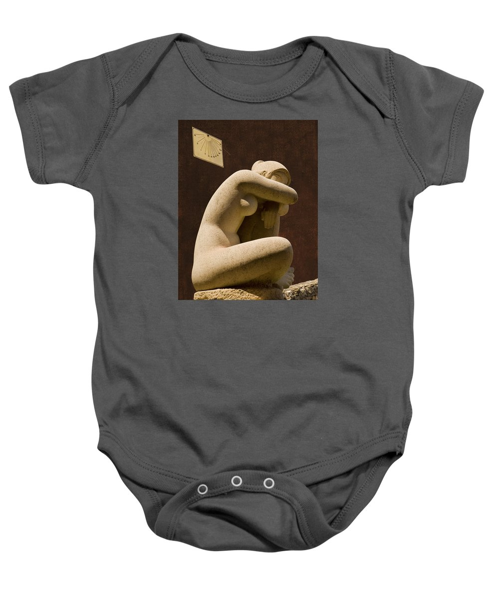 Italy Baby Onesie featuring the photograph Nap Time by Paul Eggermann