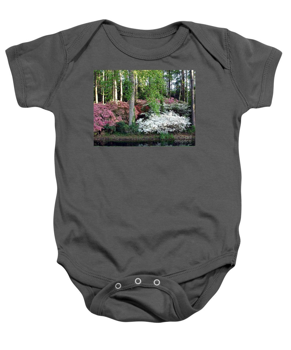 Landscape Baby Onesie featuring the photograph Nature 2 by Shelley Jones