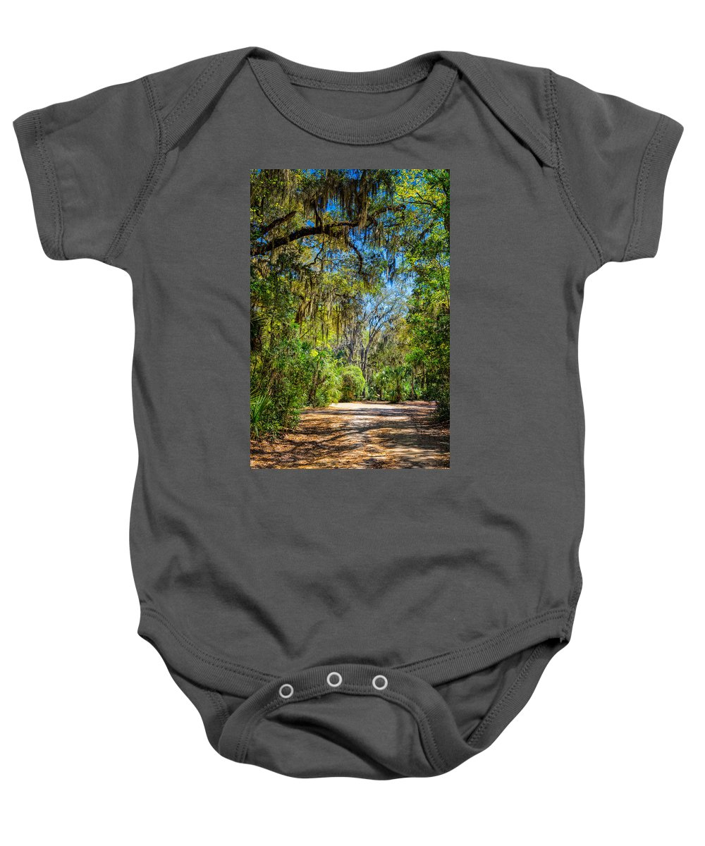 Landscape Baby Onesie featuring the photograph Nature Drive by John M Bailey
