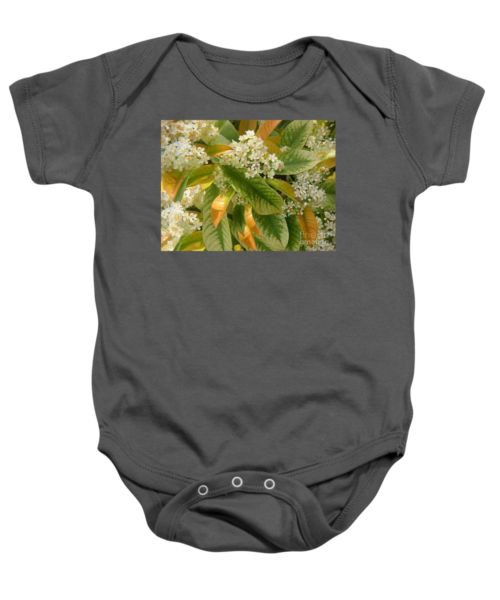 Nature Baby Onesie featuring the photograph Nature In The Wild - A Summer's Day by Lucyna A M Green