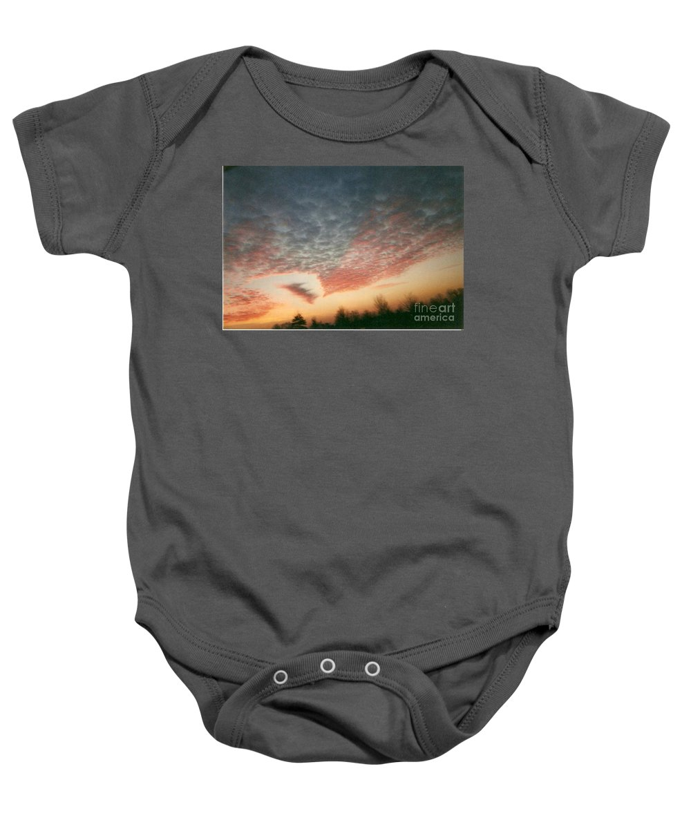 Landscape Baby Onesie featuring the photograph Natures Palette by Stephen King