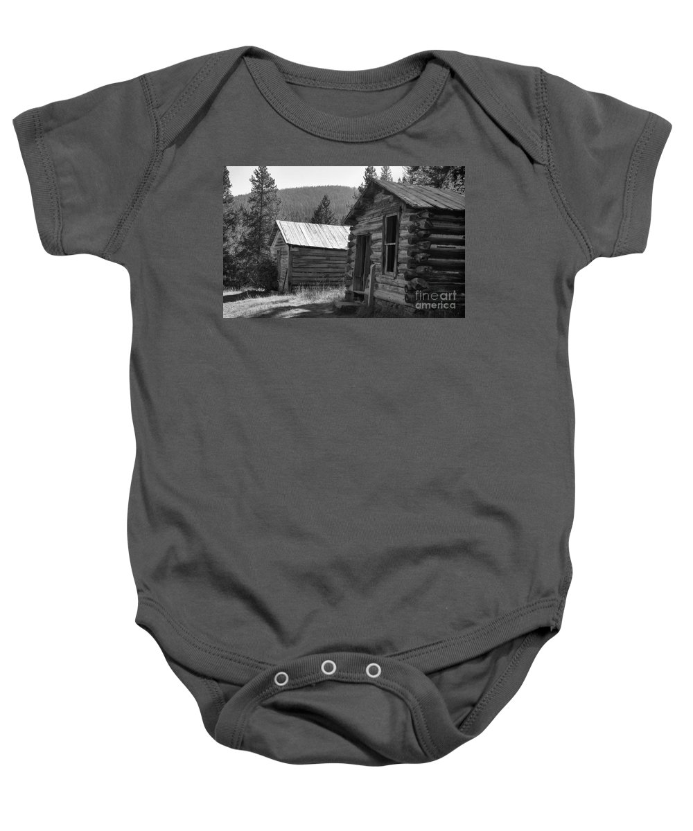 Abandoned Baby Onesie featuring the photograph Neighbors by Richard Rizzo