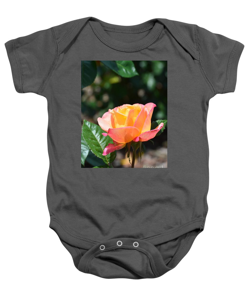 New Life Ii Baby Onesie featuring the photograph New Life II by Maria Urso