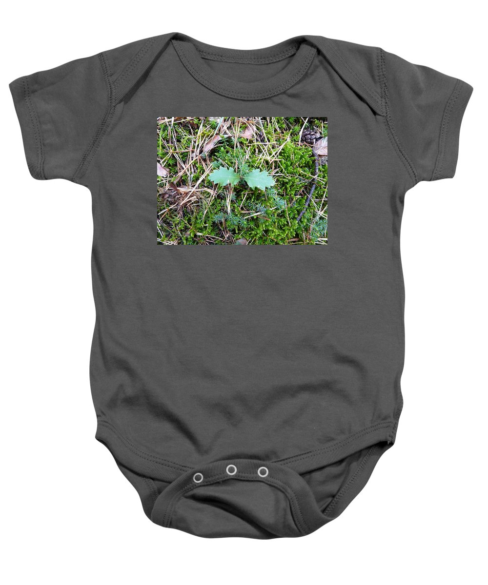 Tree Baby Onesie featuring the photograph New Life by Valerie Ornstein