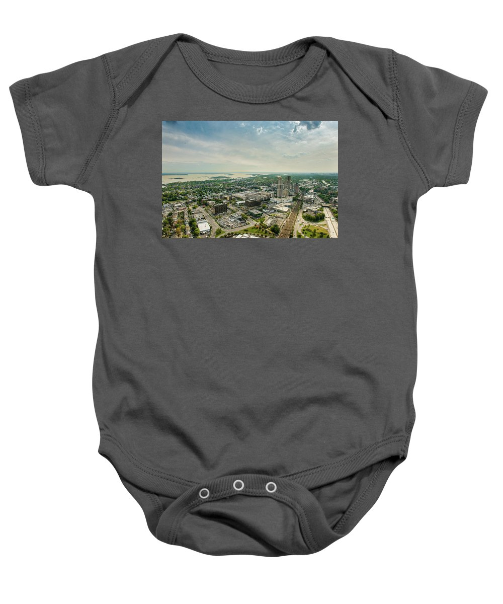 New Rochelle Baby Onesie featuring the photograph New Rochelle 4 by Louis Vaccaro