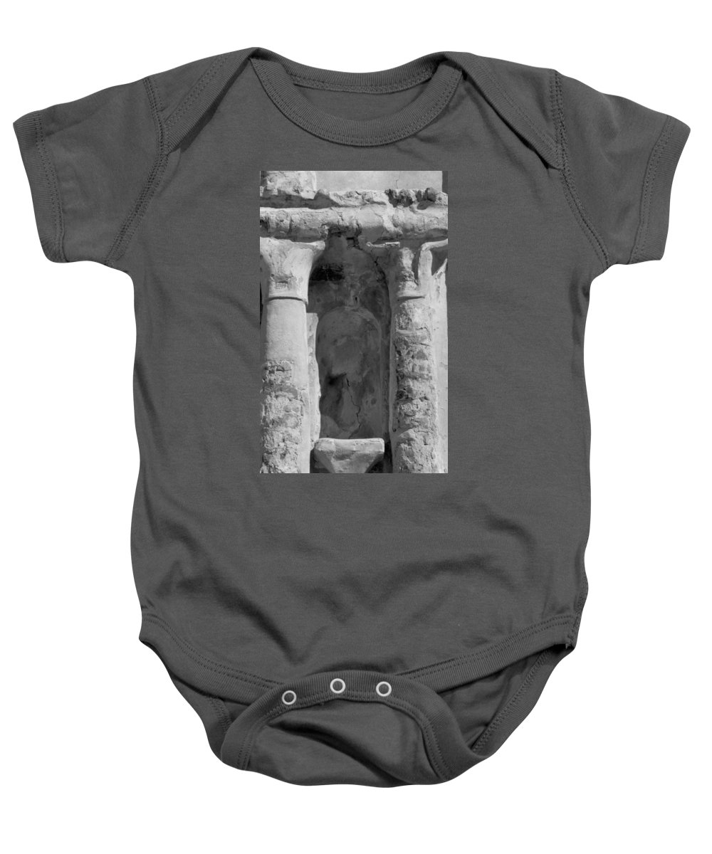 Niche Baby Onesie featuring the photograph Niche by Kathy McClure