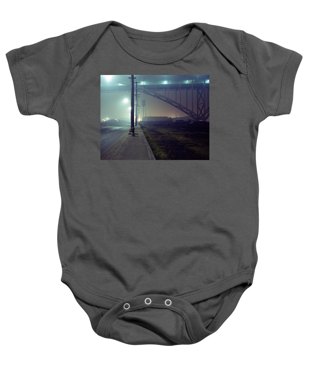 Night Photo Baby Onesie featuring the photograph Nightscape 2 by Lee Santa