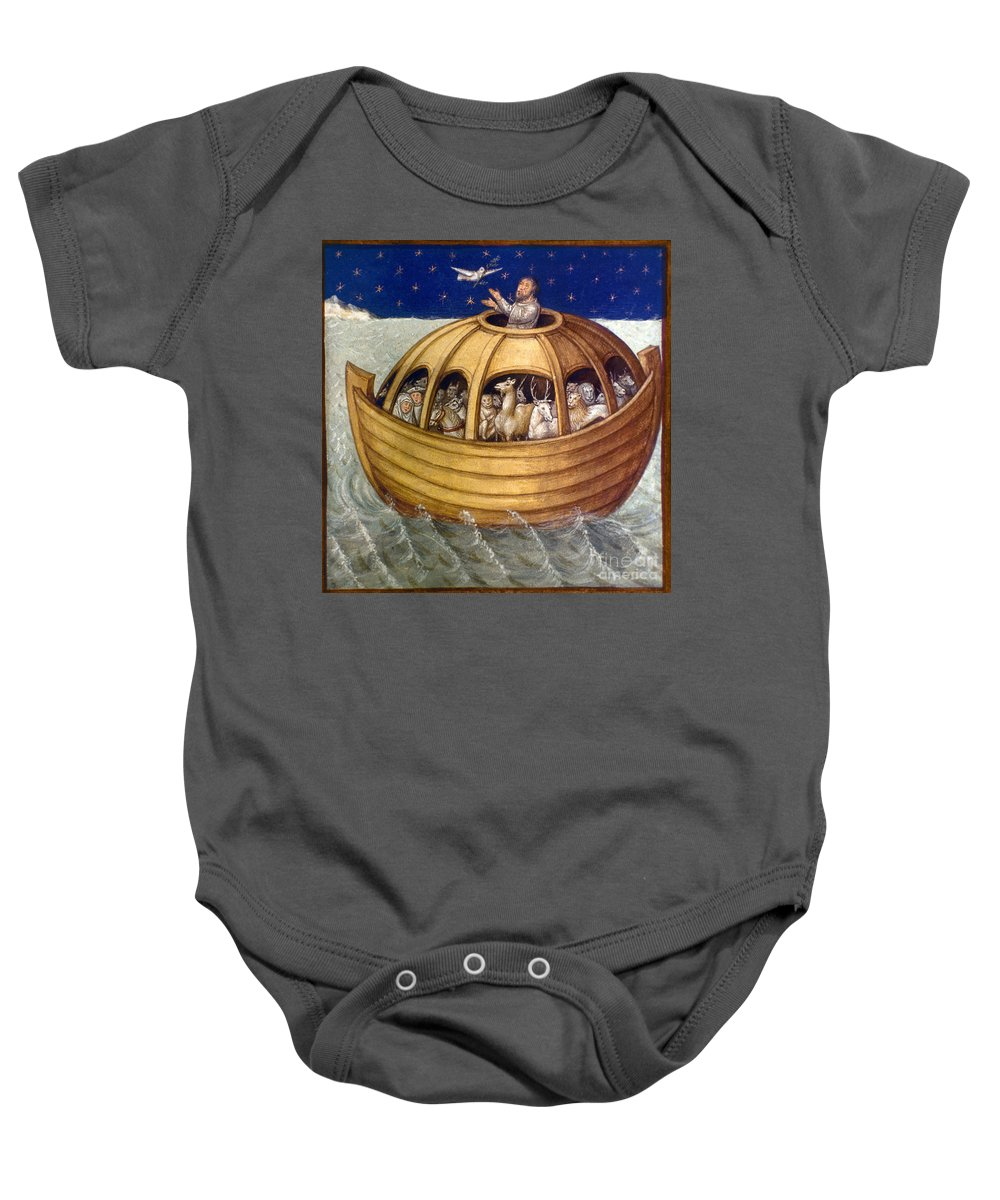 Ark Baby Onesie featuring the photograph Noahs Ark by Granger