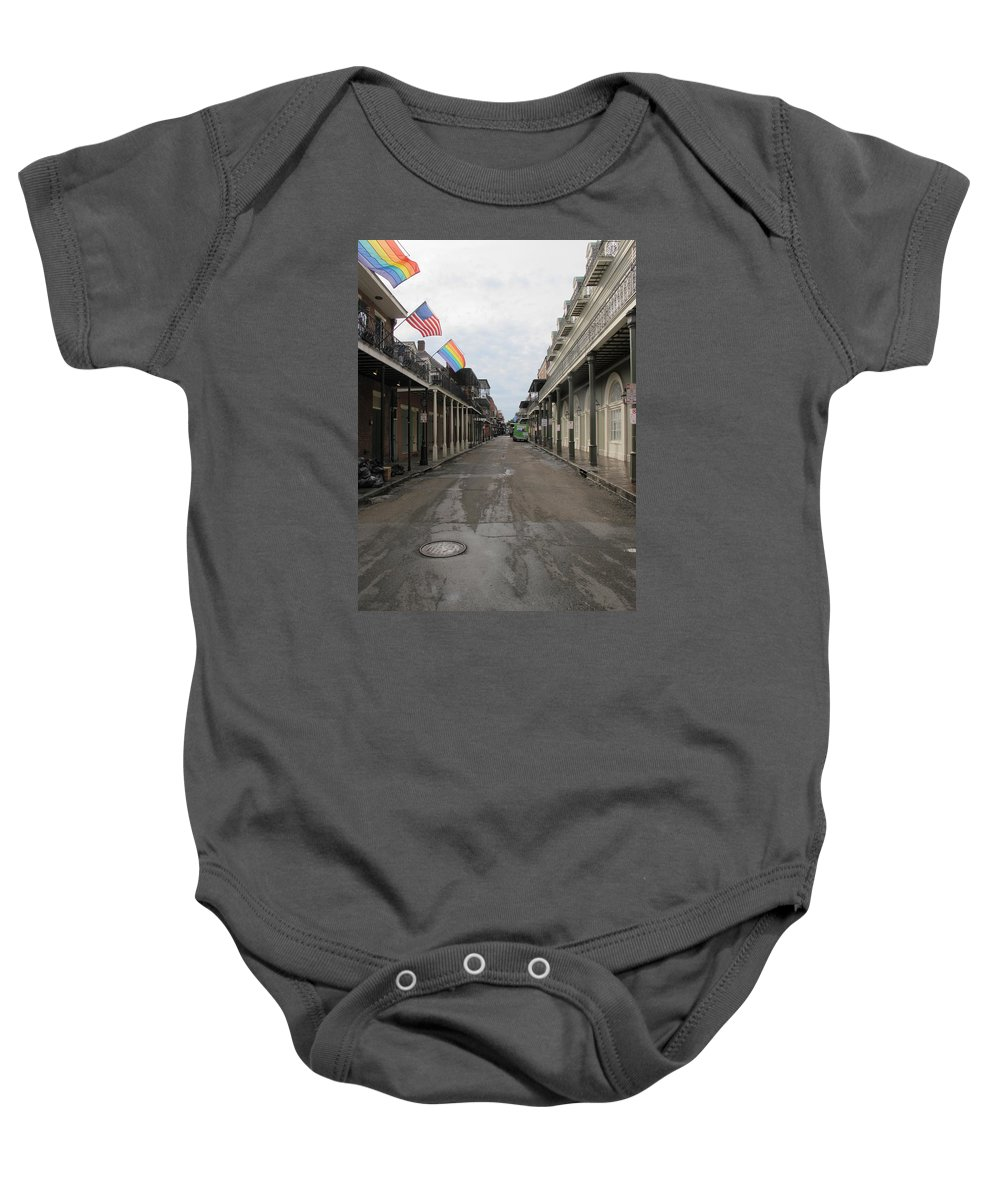 New Orleans Baby Onesie featuring the photograph Nol 2015 by Nelda Mays