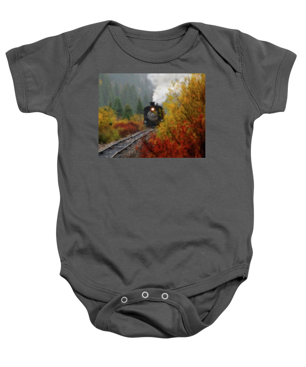 Colorado Baby Onesie featuring the photograph Number 482 by Steve Stuller