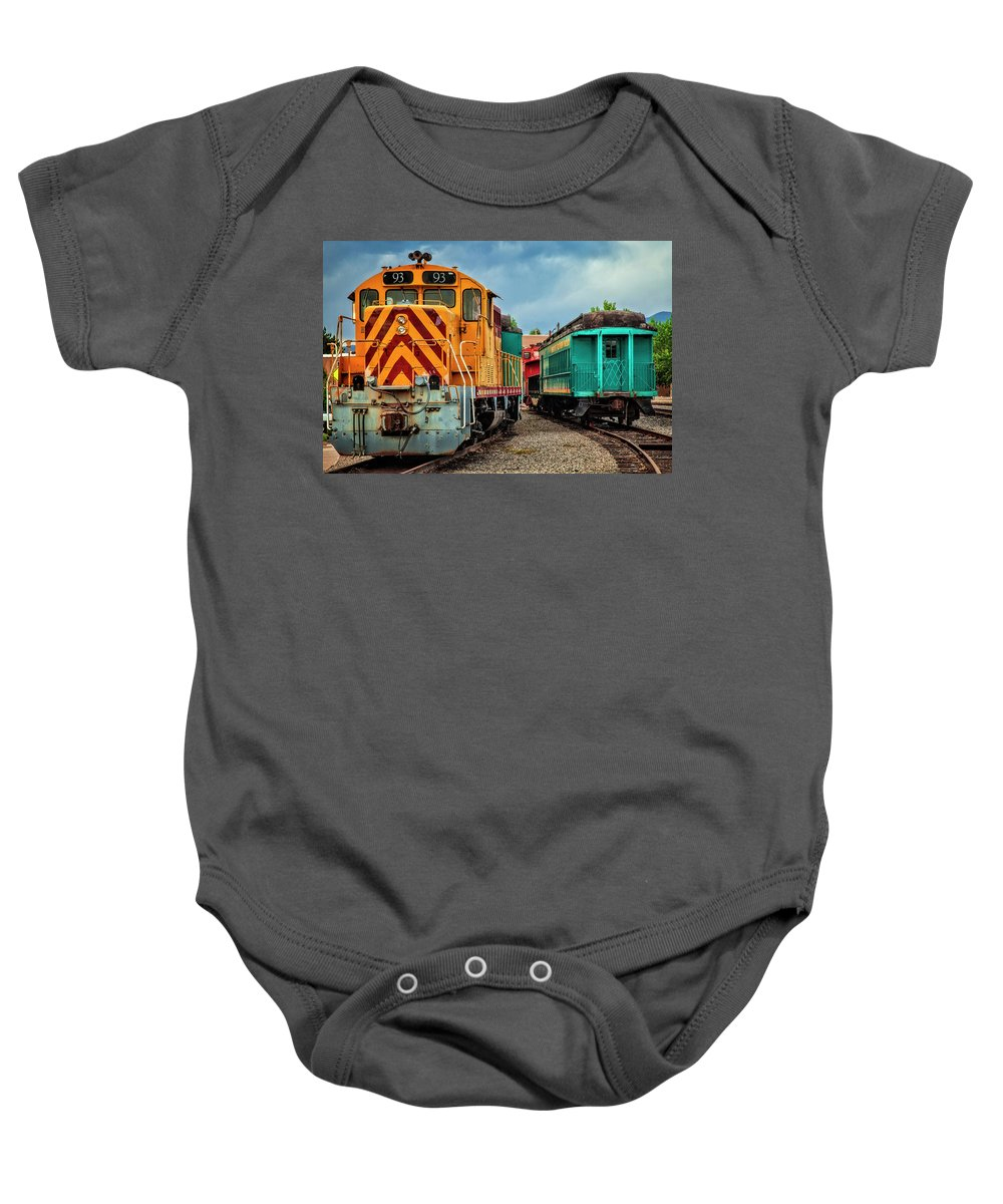 Baby Onesie featuring the photograph Number 93 by Diana Powell