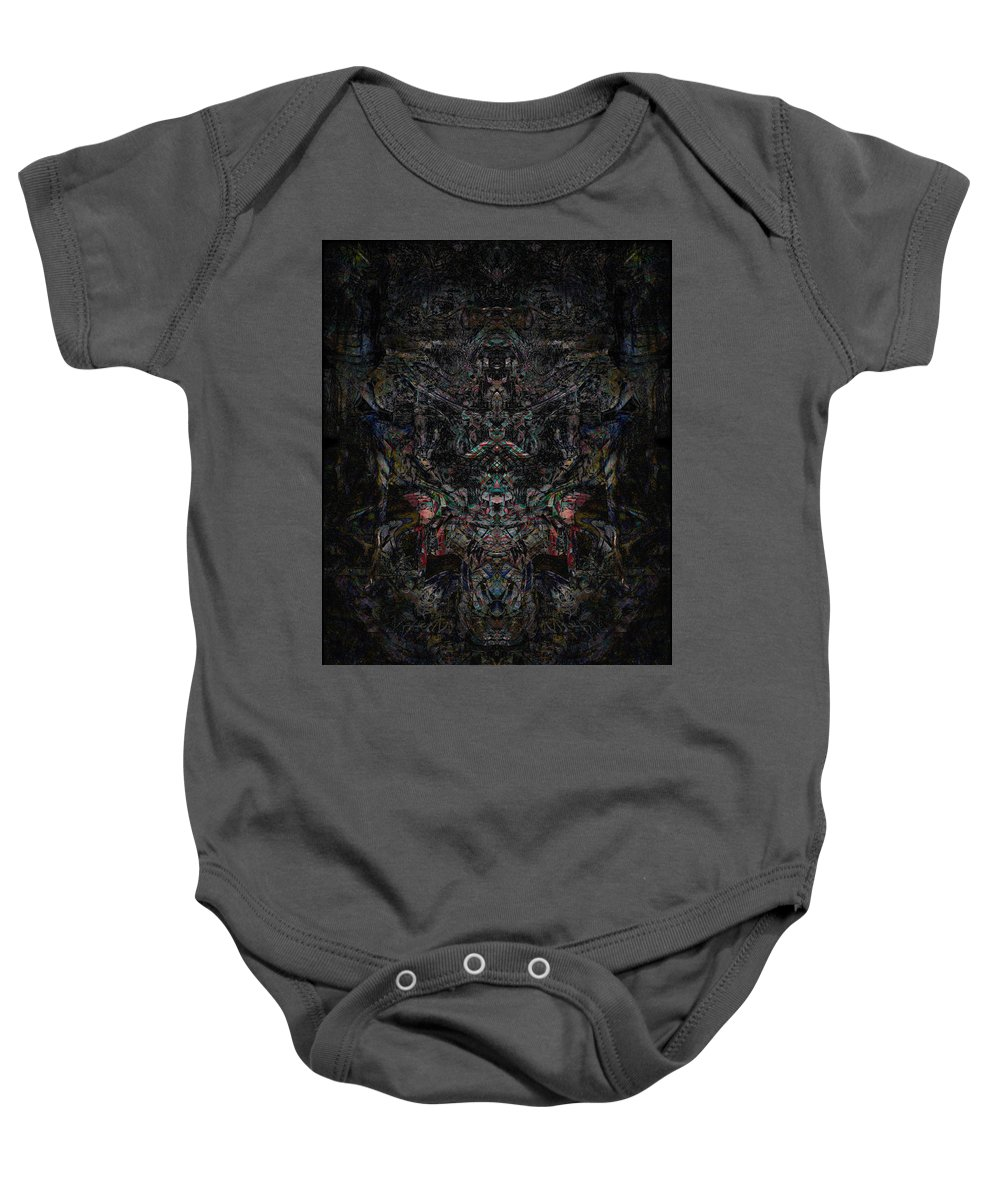 Deep Baby Onesie featuring the digital art Oa-5520 by Standa1one
