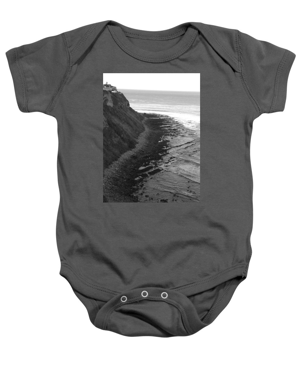 Beaches Baby Onesie featuring the photograph Oceans Edge by Shari Chavira