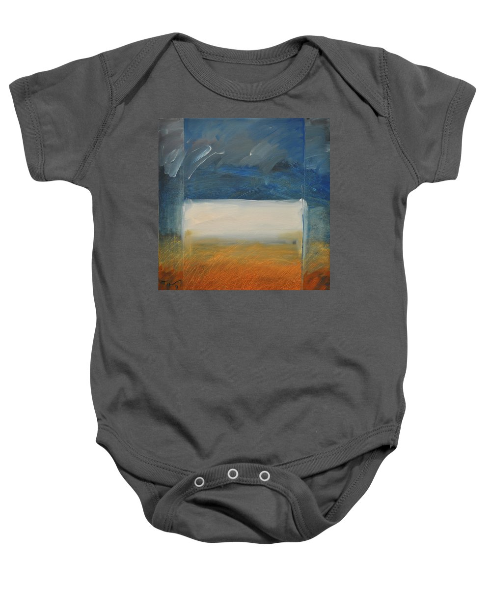 Rothko Baby Onesie featuring the painting Old MacRothko had a Farm by Tim Nyberg