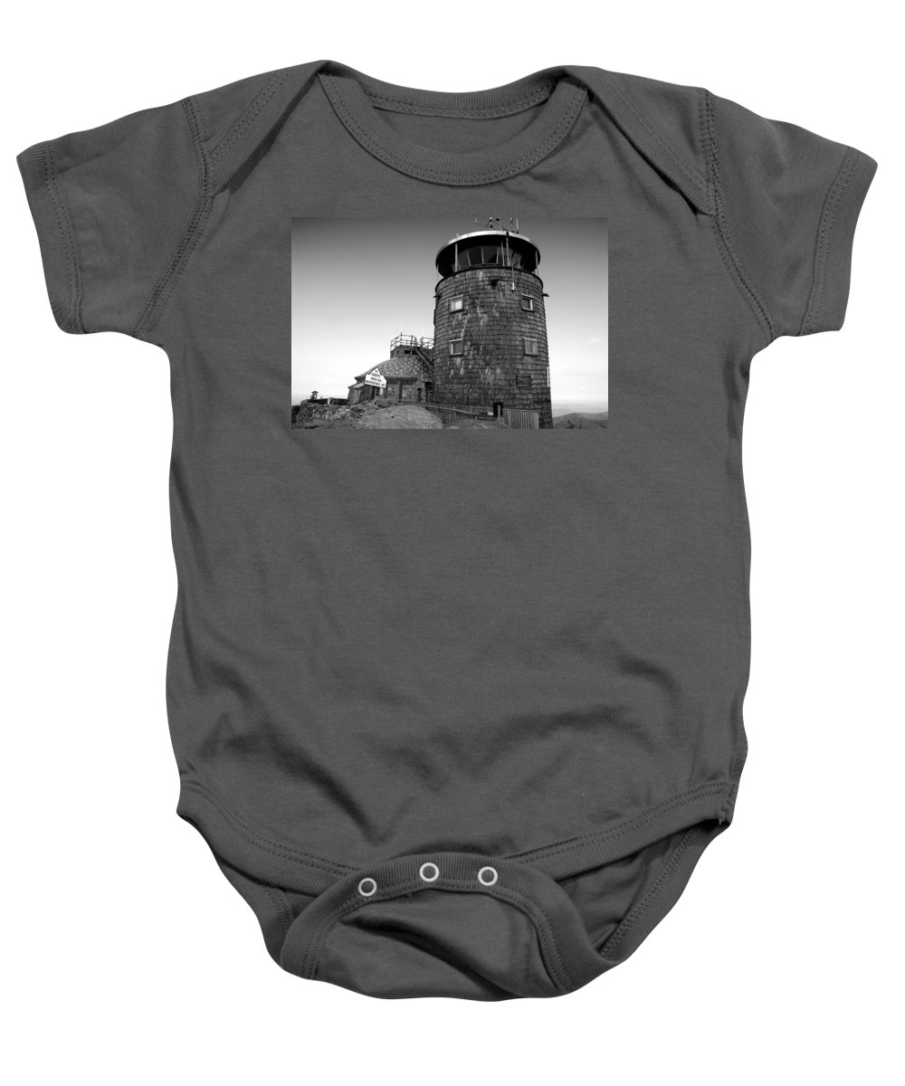 Whiteface Mountain New York Baby Onesie featuring the photograph Old Whiteface by David Lee Thompson