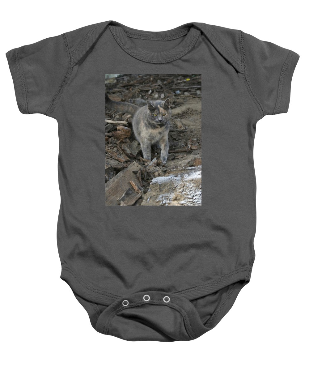 Soldier Baby Onesie featuring the photograph On A Mission by Bjorn Sjogren